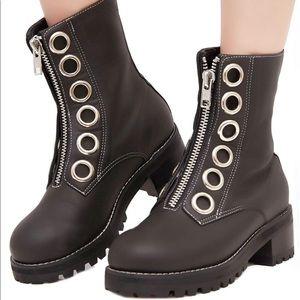Dolls Kill Shoes - Current mood black Elizabeth boots